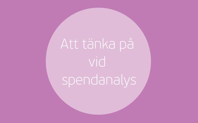 Spendanalys