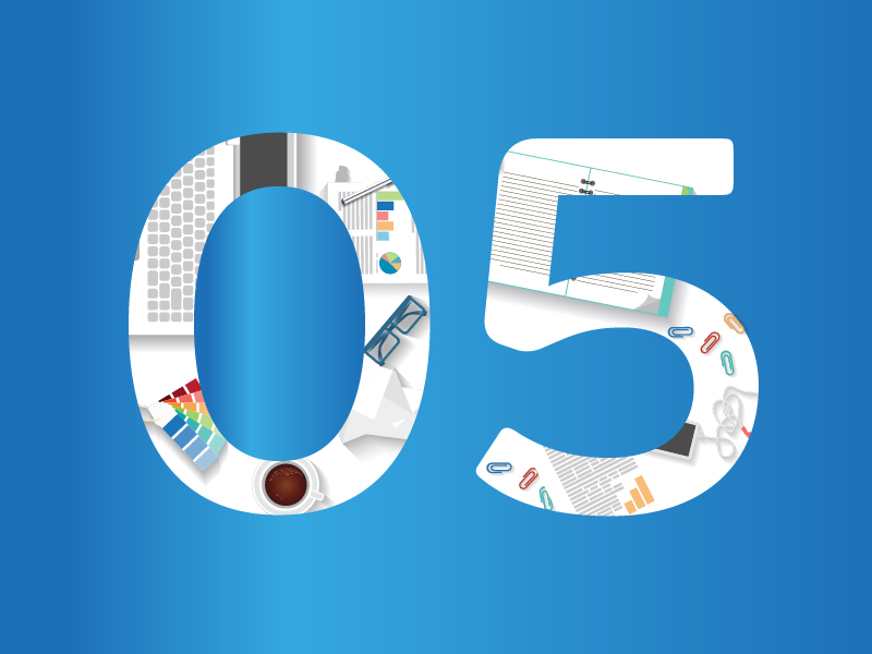 Effektivitetstips nummer 5 - rensa skrivbordet. Bild: Freepik