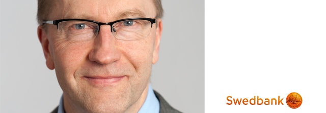 Jörgen Kennemar, analytiker på Swedbank, tror på sjunkande framtidstro.