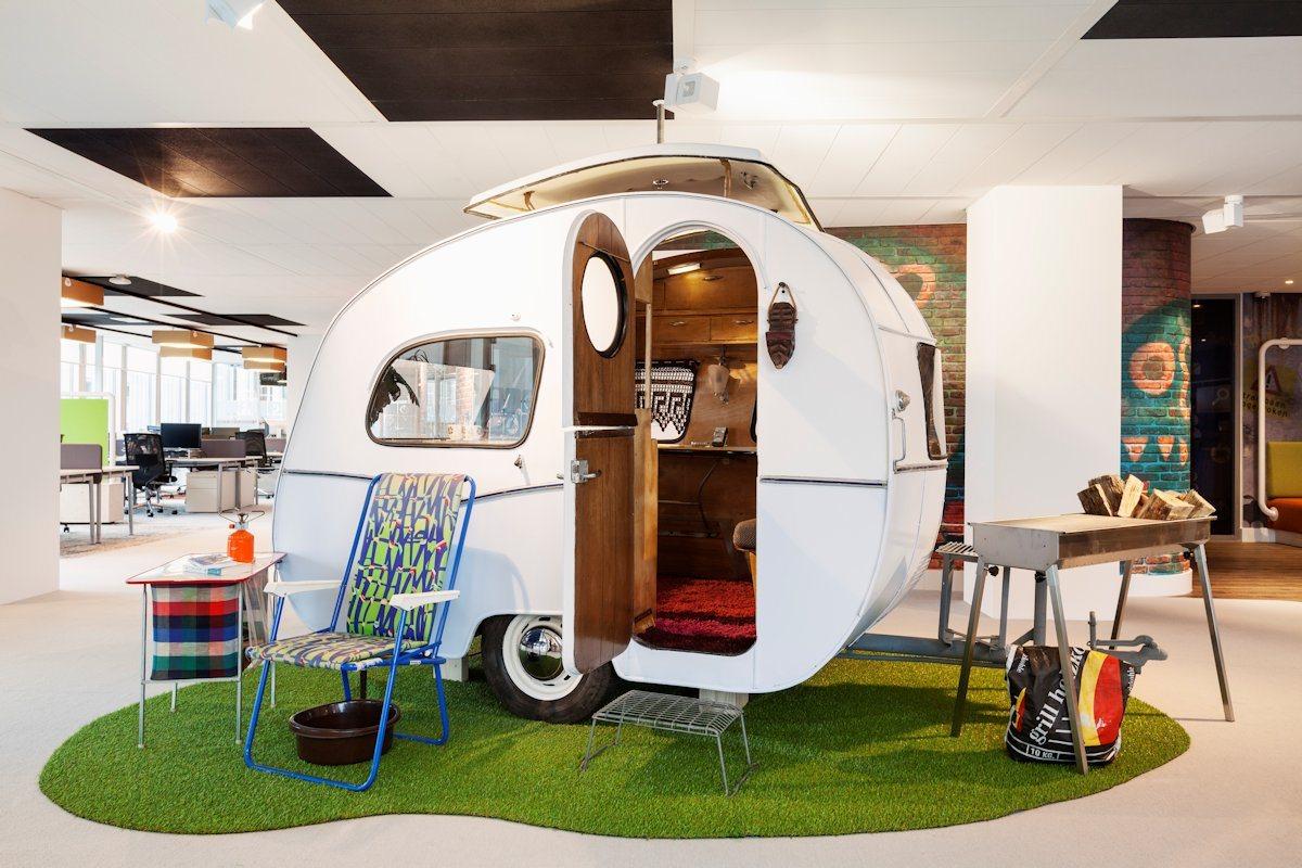 Googles kontor i Amsterdam.