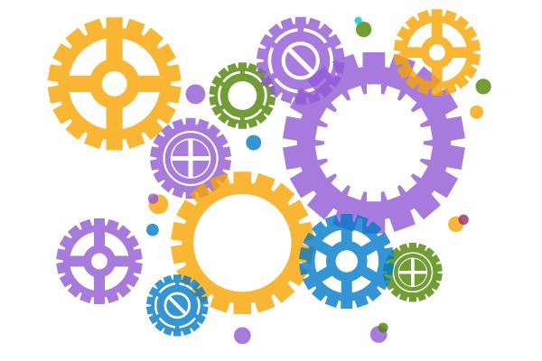 Komplett affärssystem – allt fungerar tillsammans. Bild: Freepik