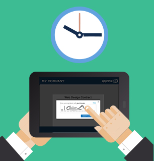 E-signaturer, en av många smarta digitala lösningar som gynnar miljön.