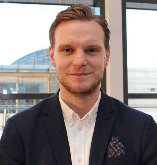 Mattias Erasmie är ansvarig för Visma Advantages B2B-kundservice och satsningen på Customer Success.