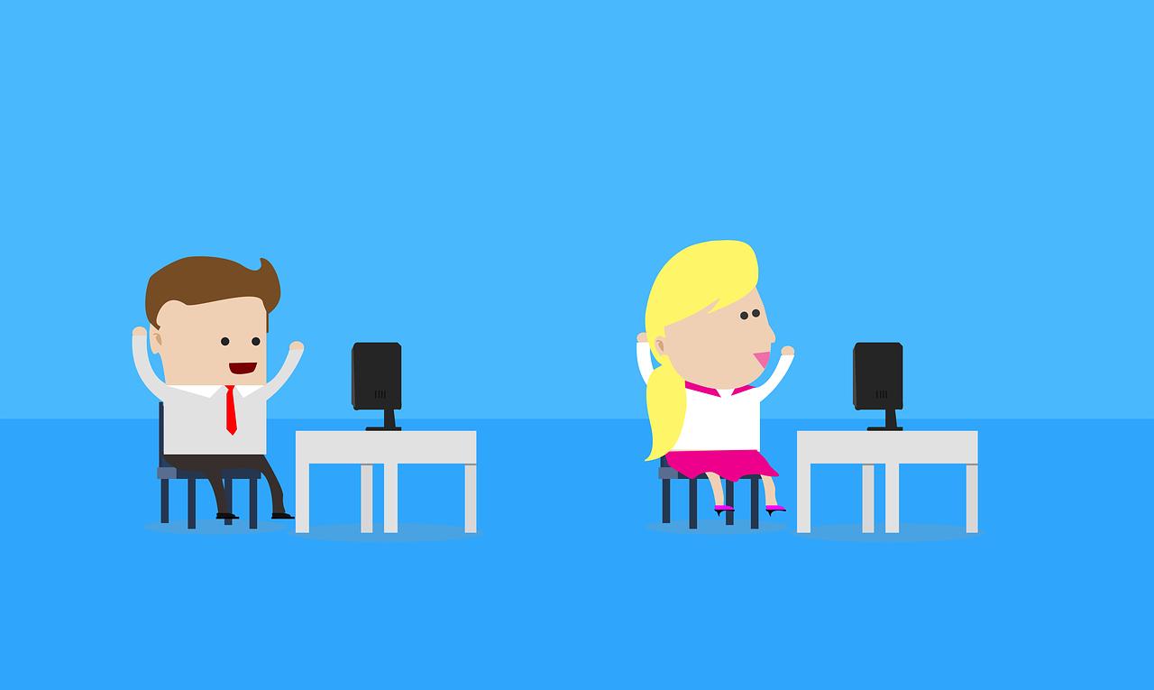 Vad säger vetenskapen om arbetsglädje? Illustration: Pixabay