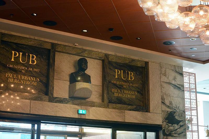 Paul U Bergström vakar fortfarande över vad som fram till nyligen var varuhuset PUB.