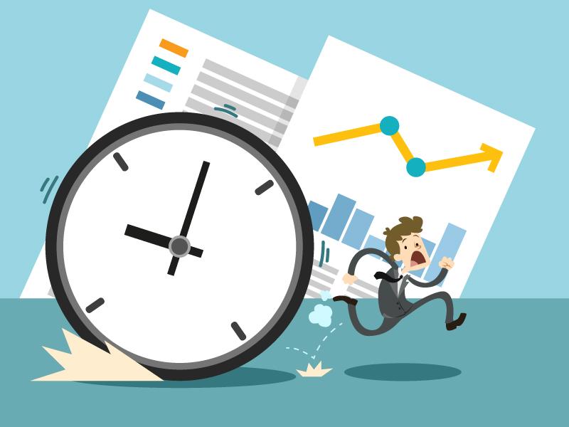Tidsrapportering och debiteringsgrad