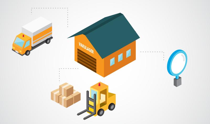 Optimera lagernivåerna och minimera kapitalbindning. Bild: Freepik