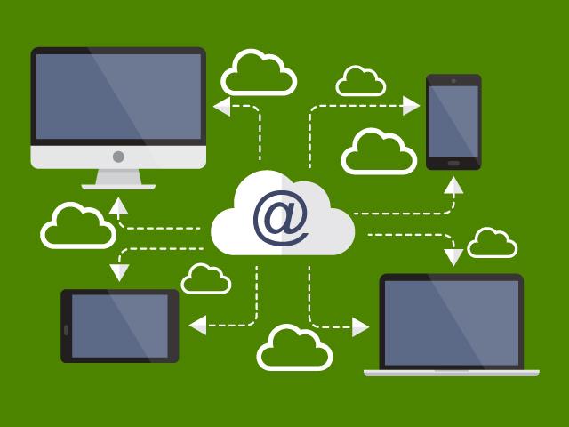 BYOD och affärssystem i molnet. Bild: Freepik