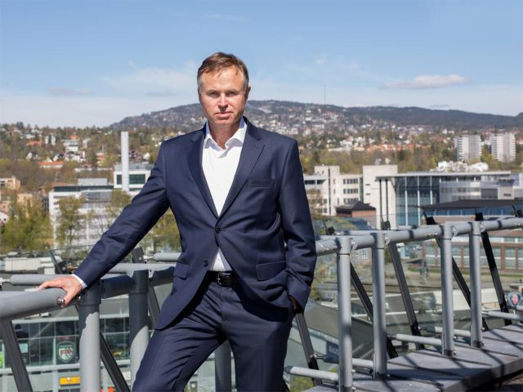 Øystein Moan, koncernchef Visma, om möjligheterna med ett molnbaserat affärssystem.