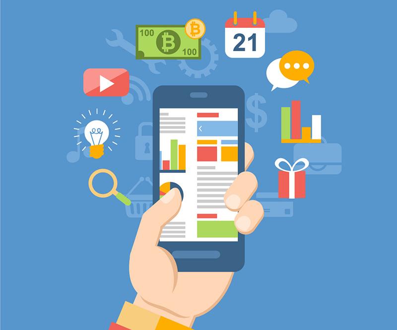 Appar spelar en viktig roll i det mobila livet. Bild: Rosapuchalt / Freepik