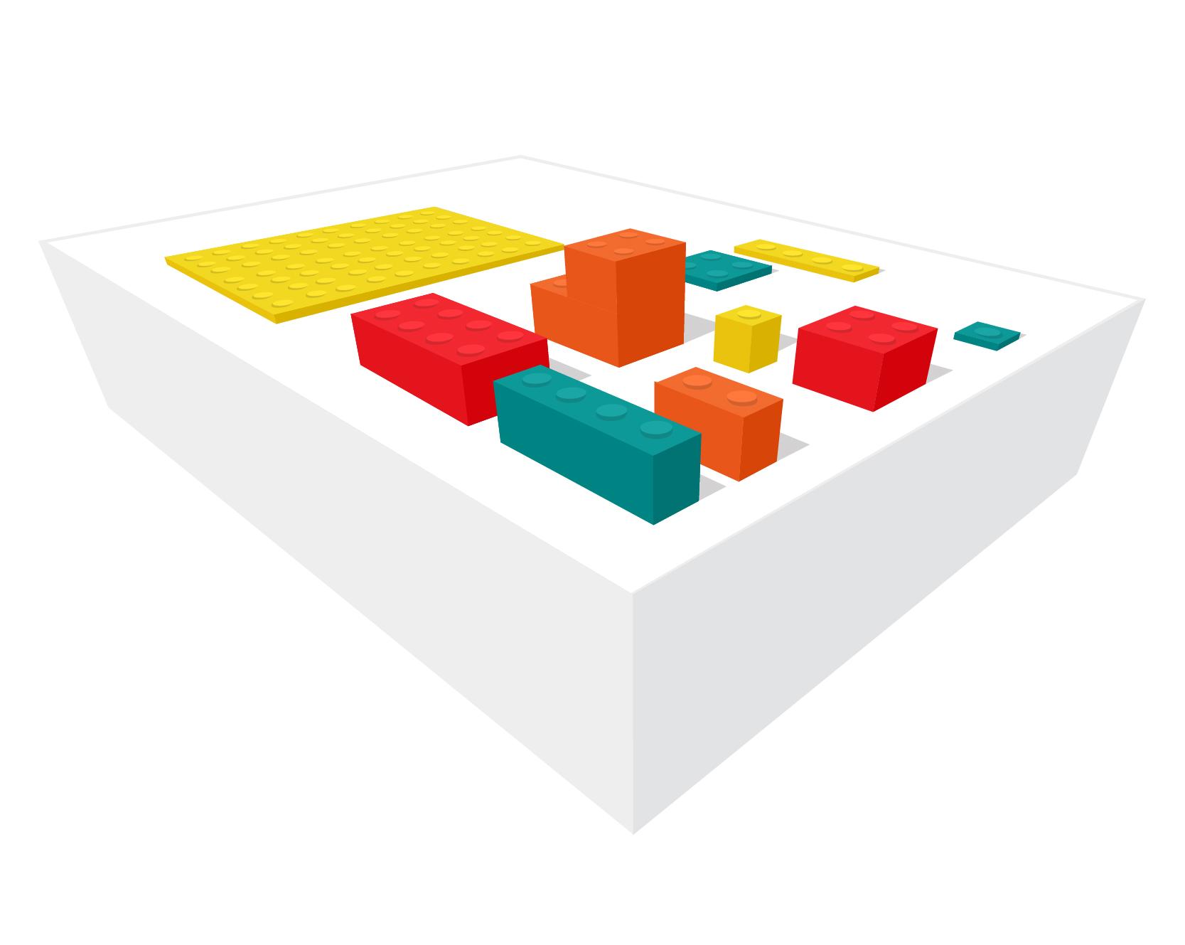 Integrationer med API:er som byggklossar. Bild: Freepik