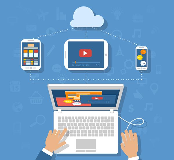 Ett affärssystem som bygger på modern teknik kan användas på flera enheter. Bild: Freepik