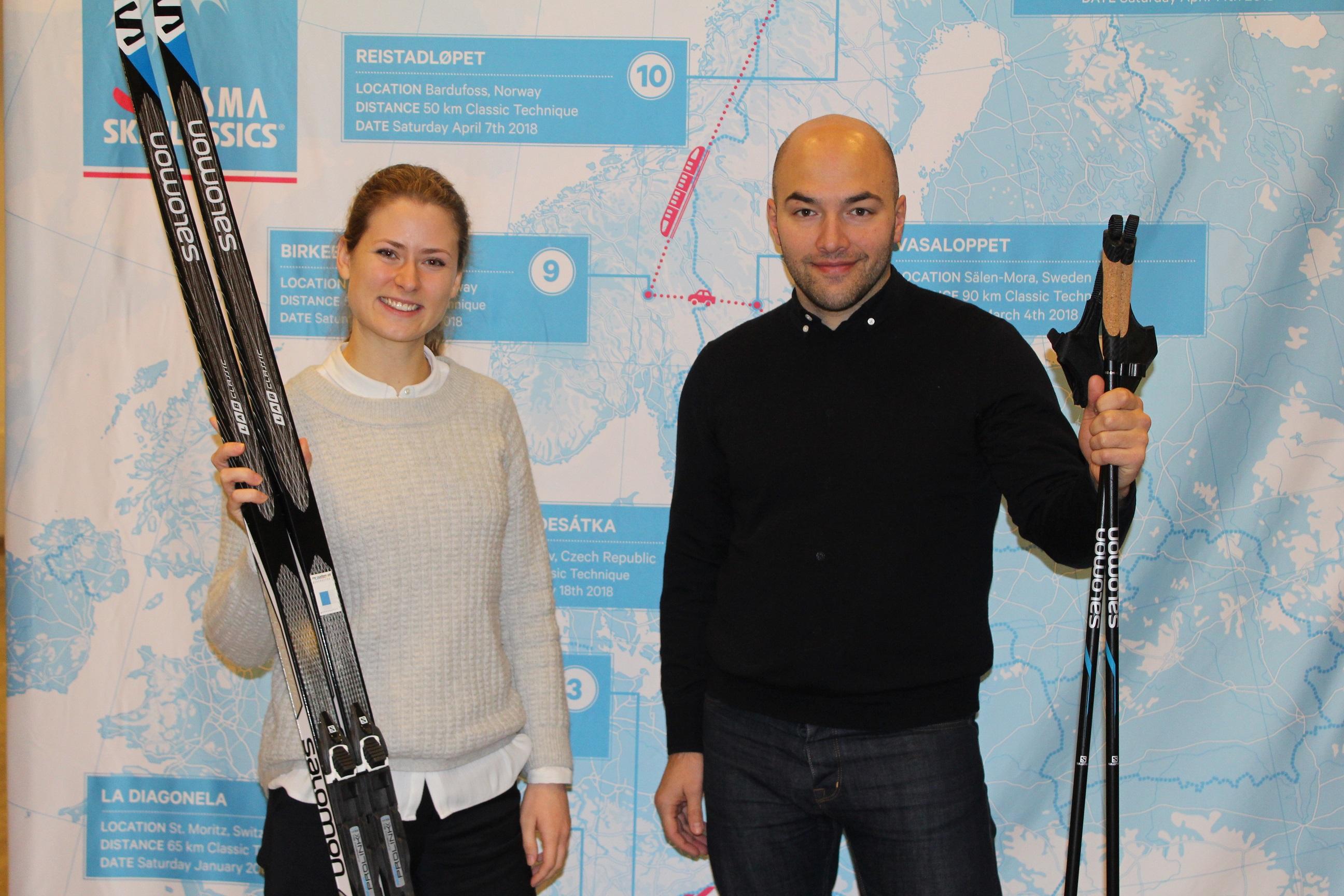 Eeva Penttilä och Burch Gürler, Vismas svenska hopp i Ylläs-Levi
