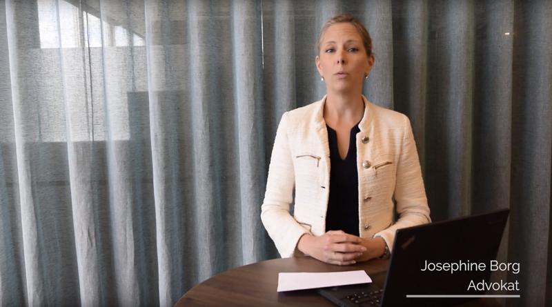 Lär dig allt du behöver veta om GDPR av advokat Josephine Borg.