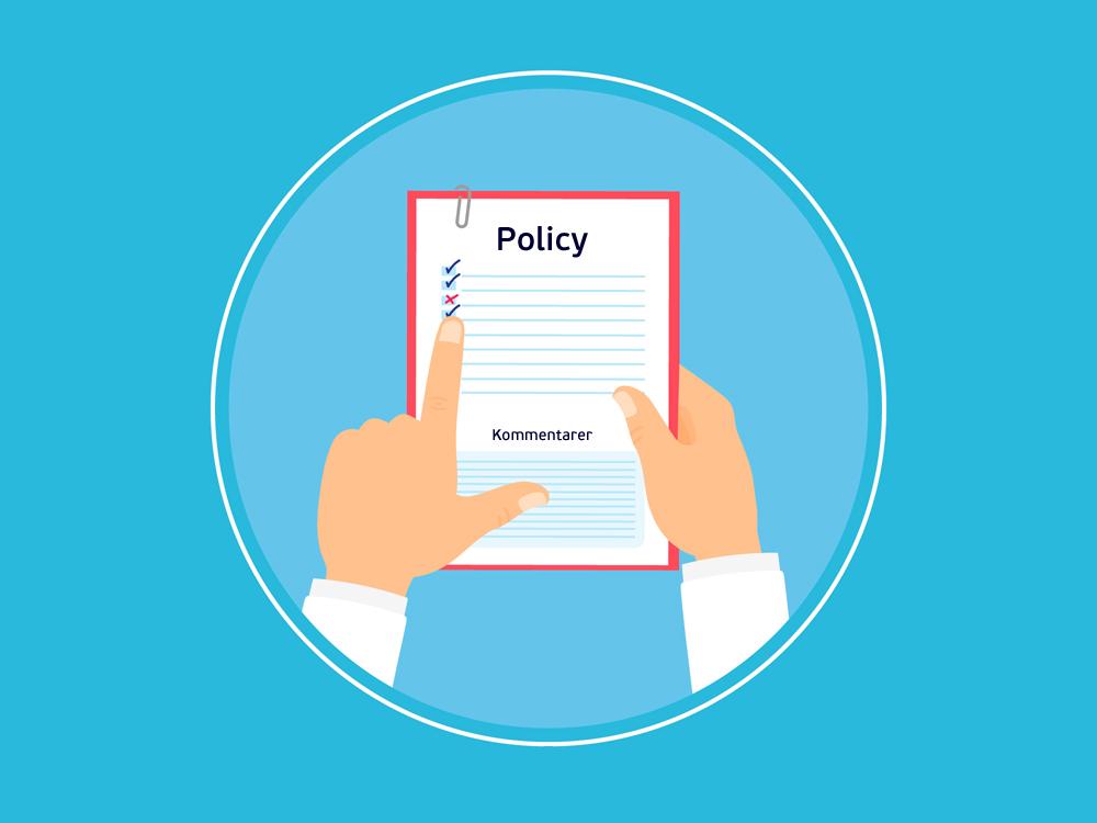 Gratismallar, policies och dokument från Visma – ladda ner här.