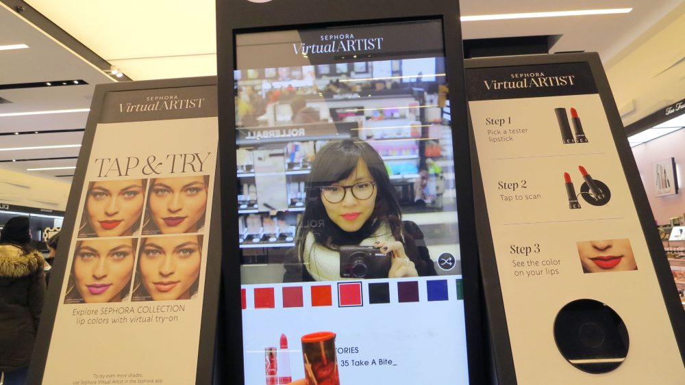 Tina Banh-Skybrand på Sephora i New York