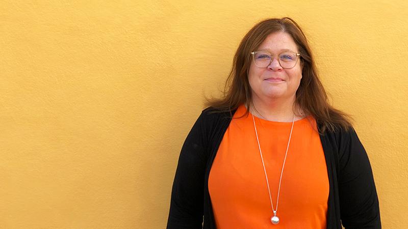 Lotta Lovén, Head of Digital Banking Swedbank, samarbetar mer än gärna med små företag.