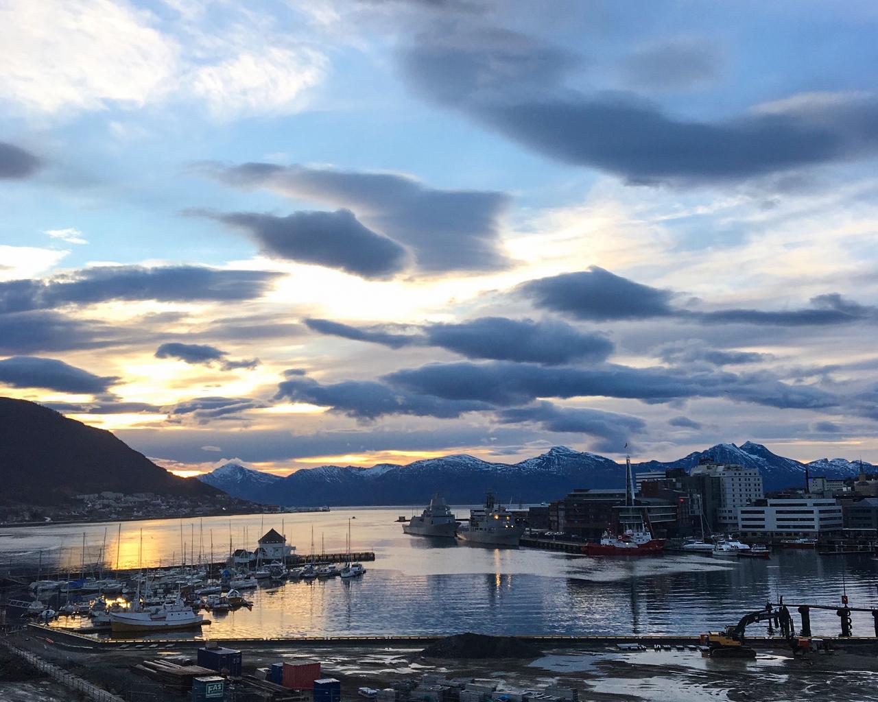 Tromsöborna vet hur man undviker vintertrötthet Foto: Catarina Söderlund
