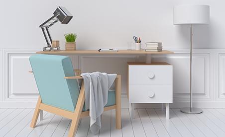 Snygg minimalism med utrymme för trivsel.