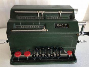 Relik från tiden före datorerna