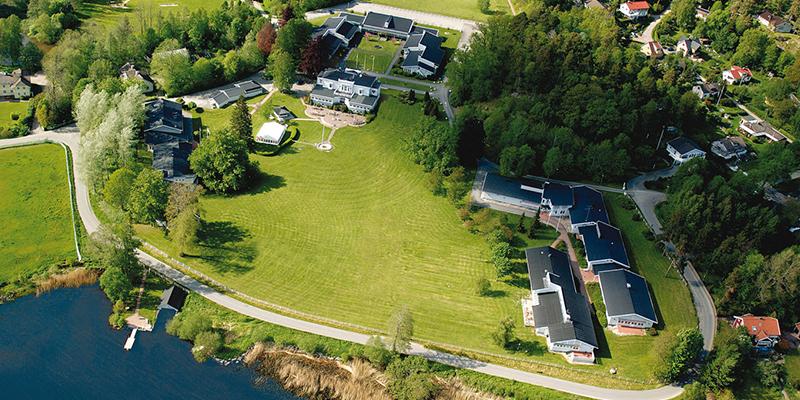 Det finns fantastiska anläggningar i Sverige, exempelvis Aspenäs herrgård.