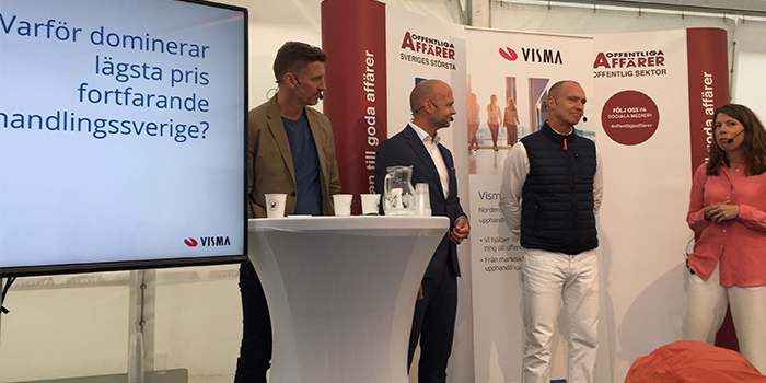 Visma Commerce Almedalen 201