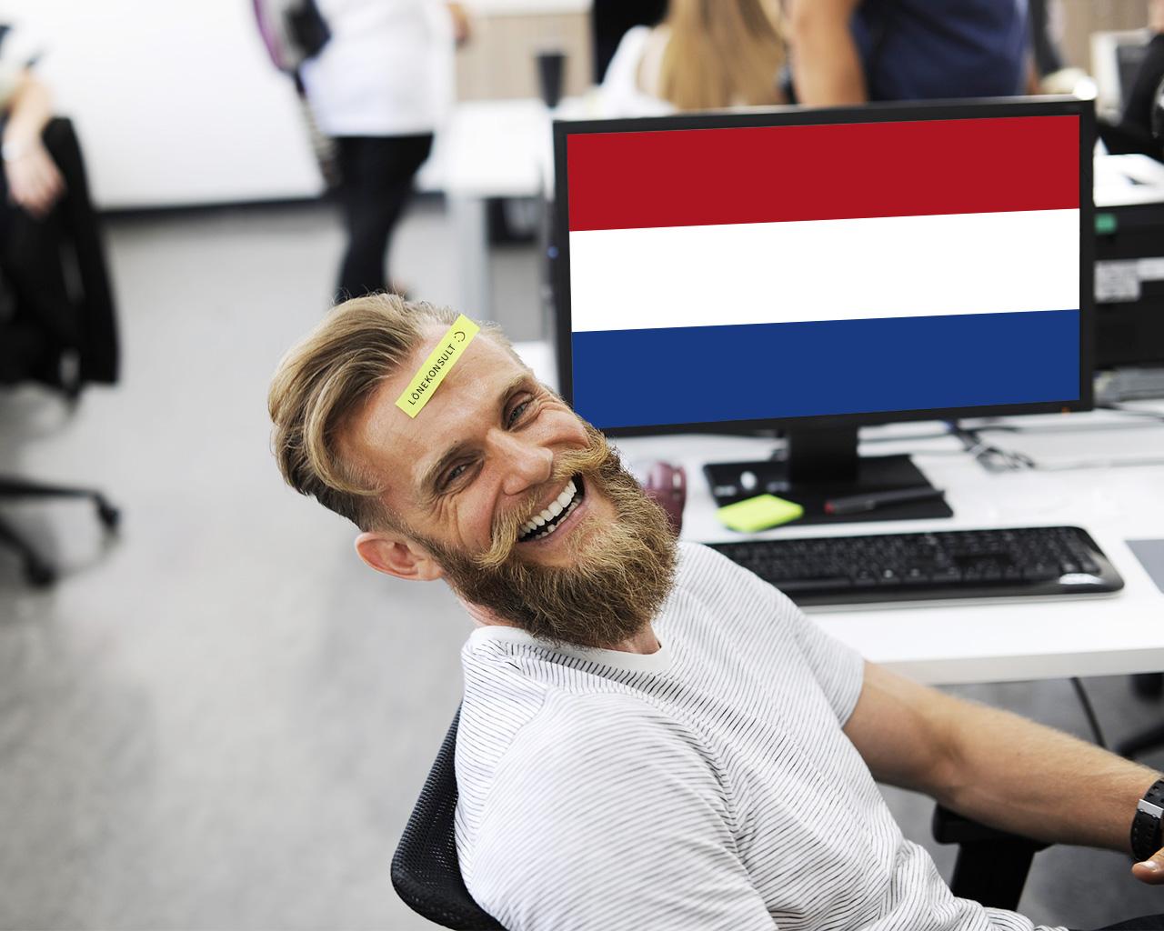 Lönekonsult är ett mansjobb i Nederländerna