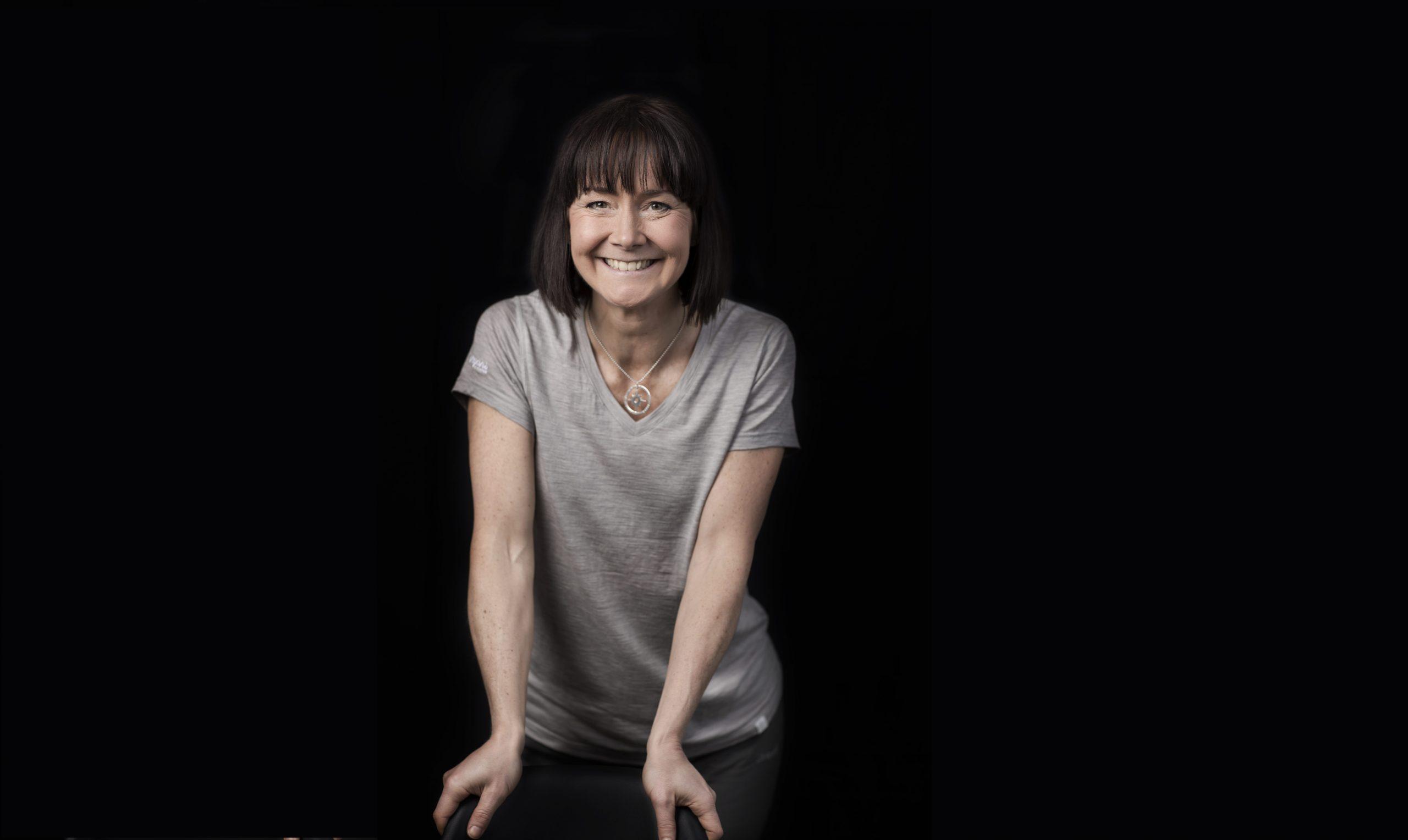 Kristina Paltén övervann sin rädsla när hon ensam sprang genom Iran. Träffa henne i Vismas monter på Personal & Chef. Foto: Björnsthlm.se