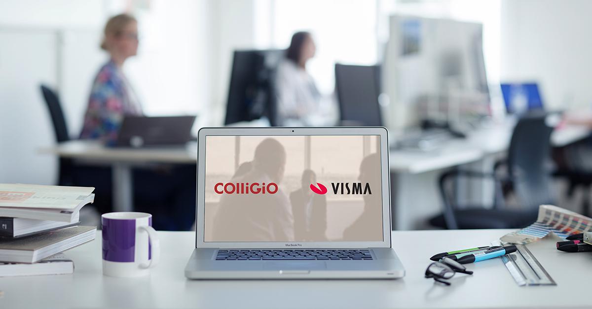 Samarbete Visma Commerce och Colligio