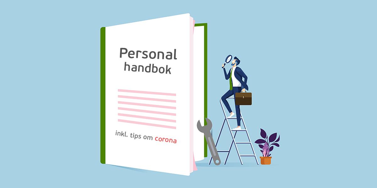 Personalhandbok – gratis mall med avsnitt om corona