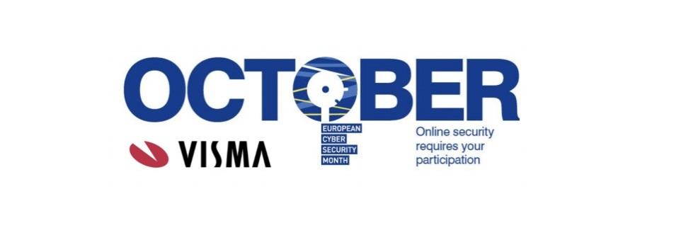 Visma stöttar European Cyber Security Month genom att bland annat sprida kunskap om phishing