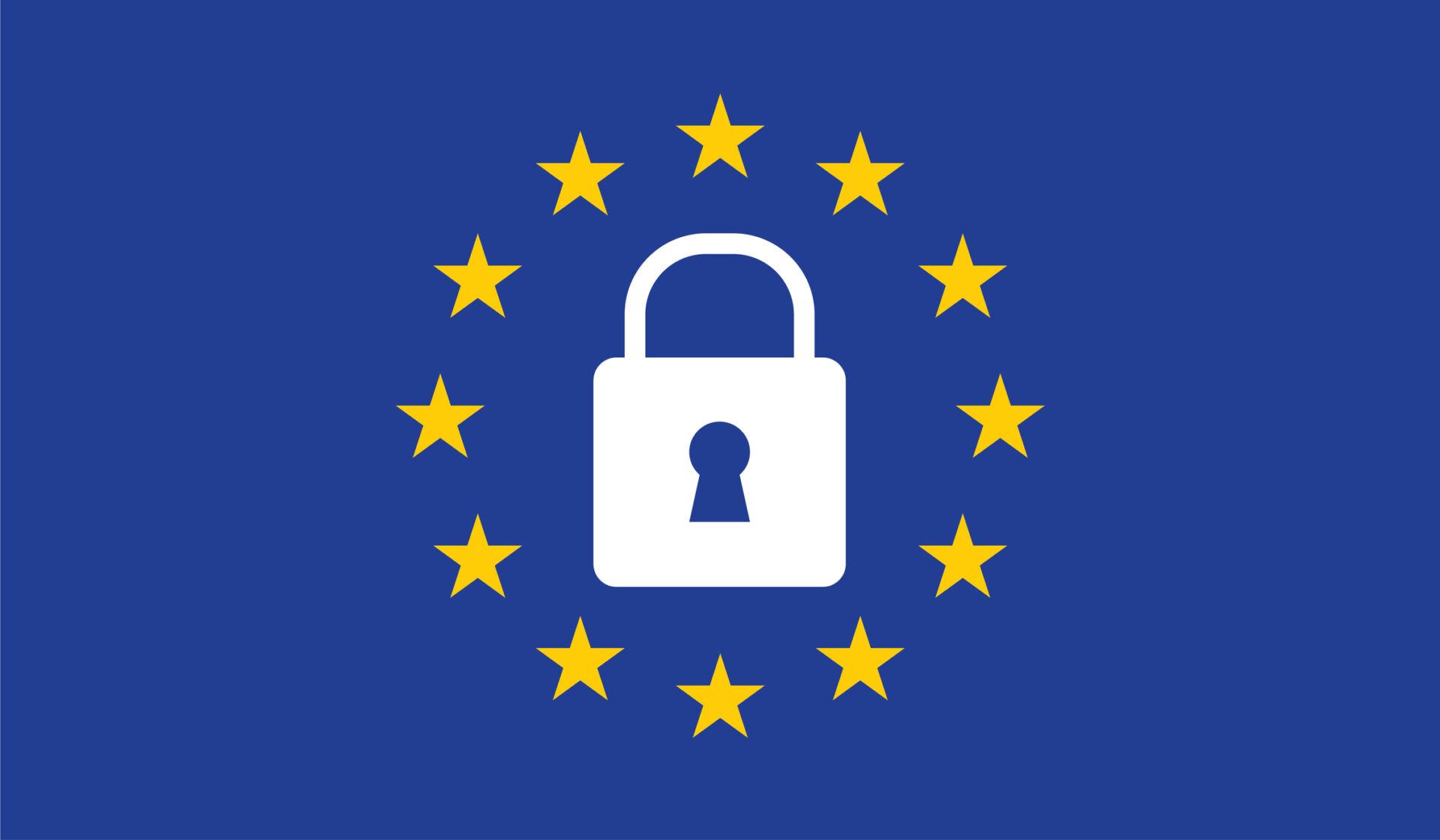 eu-flag-padlock